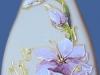 Butelka ręcznie malowana